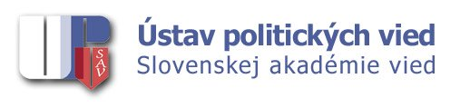 The Institute of Political Science, Slovak Academy of Sciences - logo