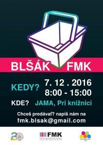 Blšák FMK 2016 - plagát
