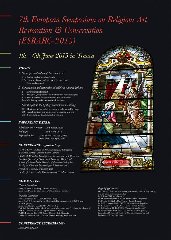 ESRARC 2015 - poster