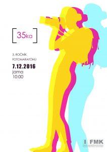 Fotomaratón 35ka vol.III 2016 - plagát