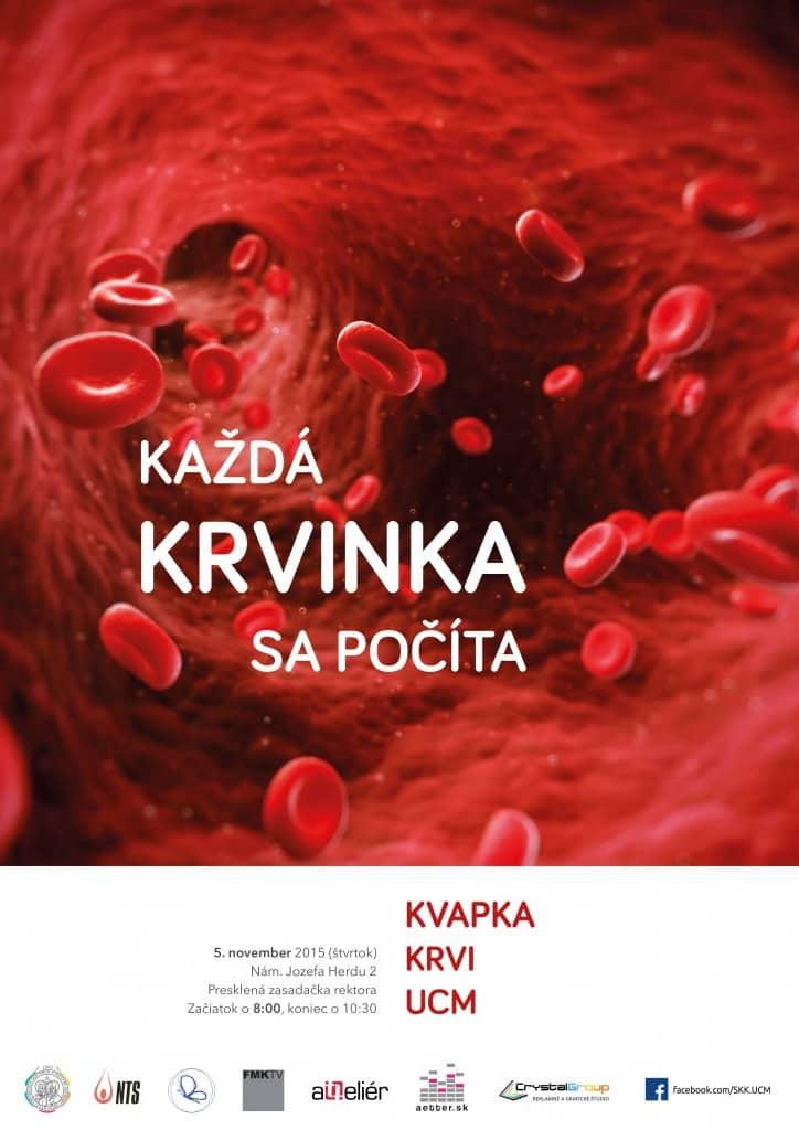 Kvapka krvi UCM - plagát