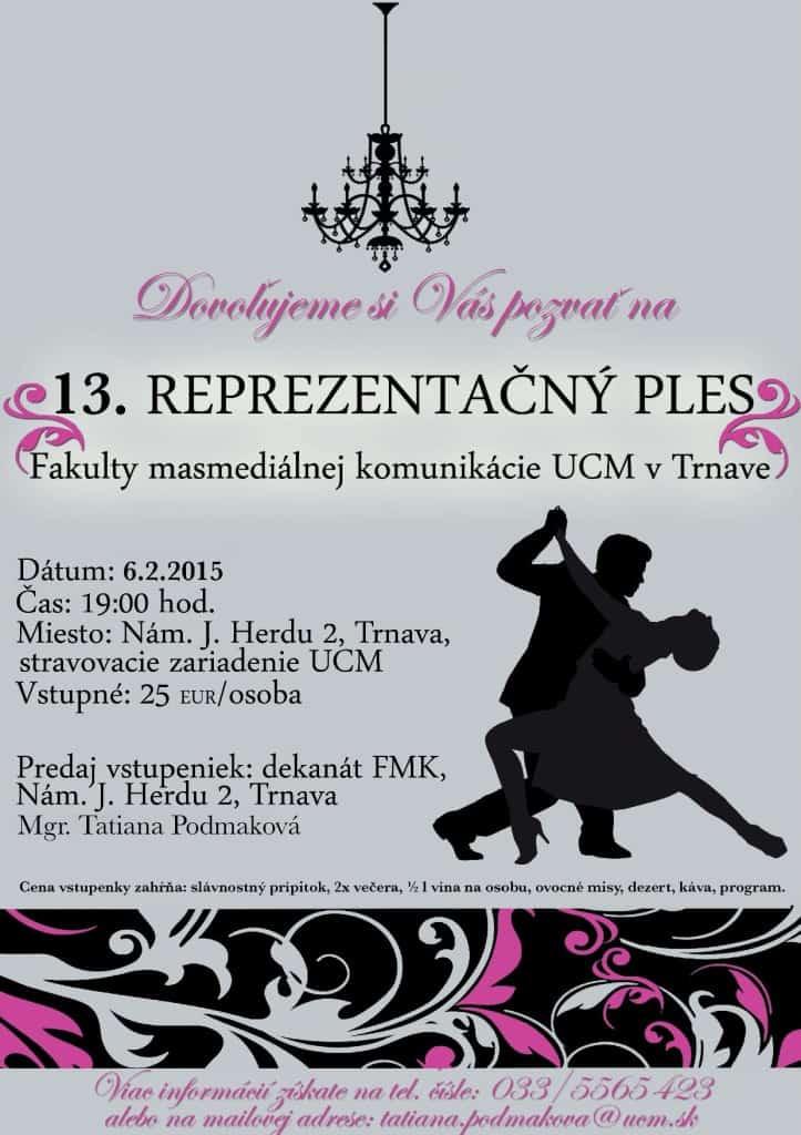 XIII. reprezentačný ples FMK