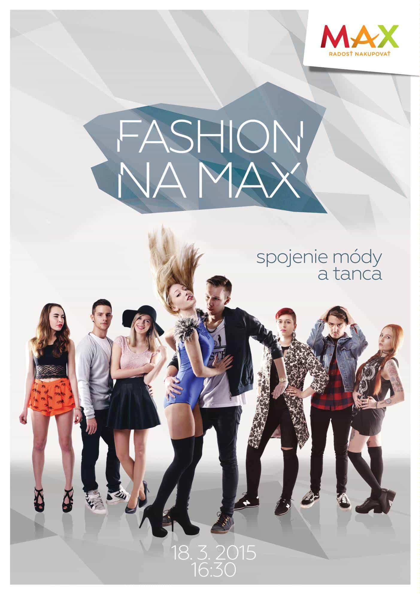 Fashion na Max 2015 - plagát