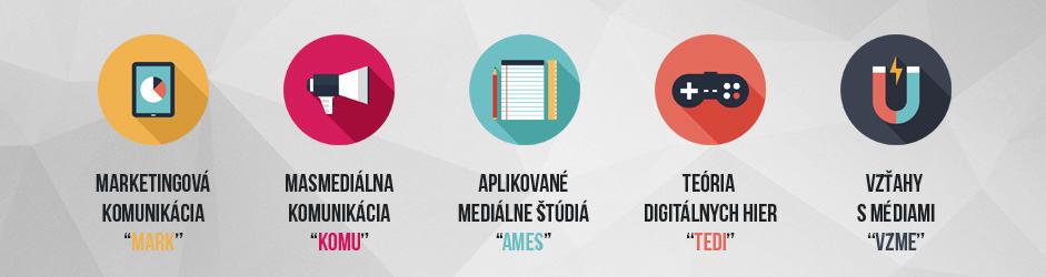 Študijné programy FMK UCM