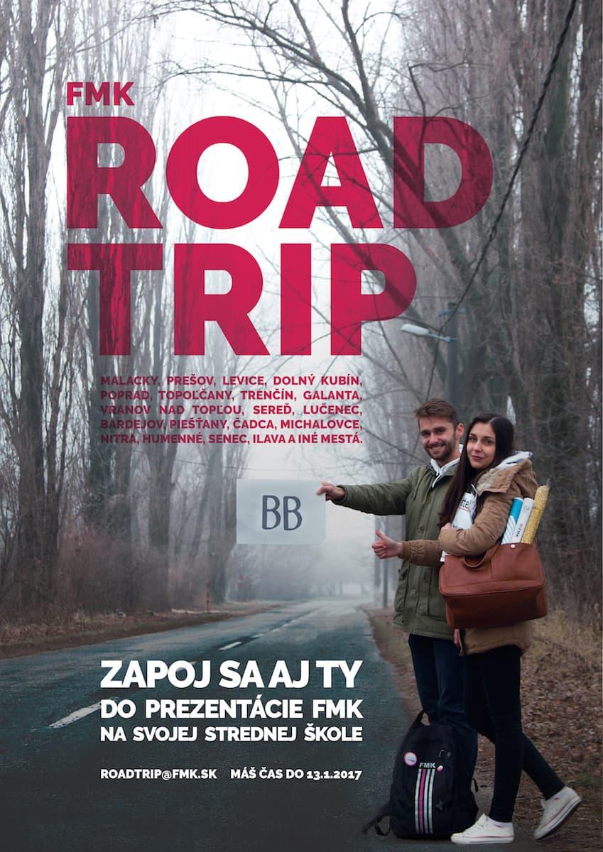 Roadtrip FMK 2017 - plagát