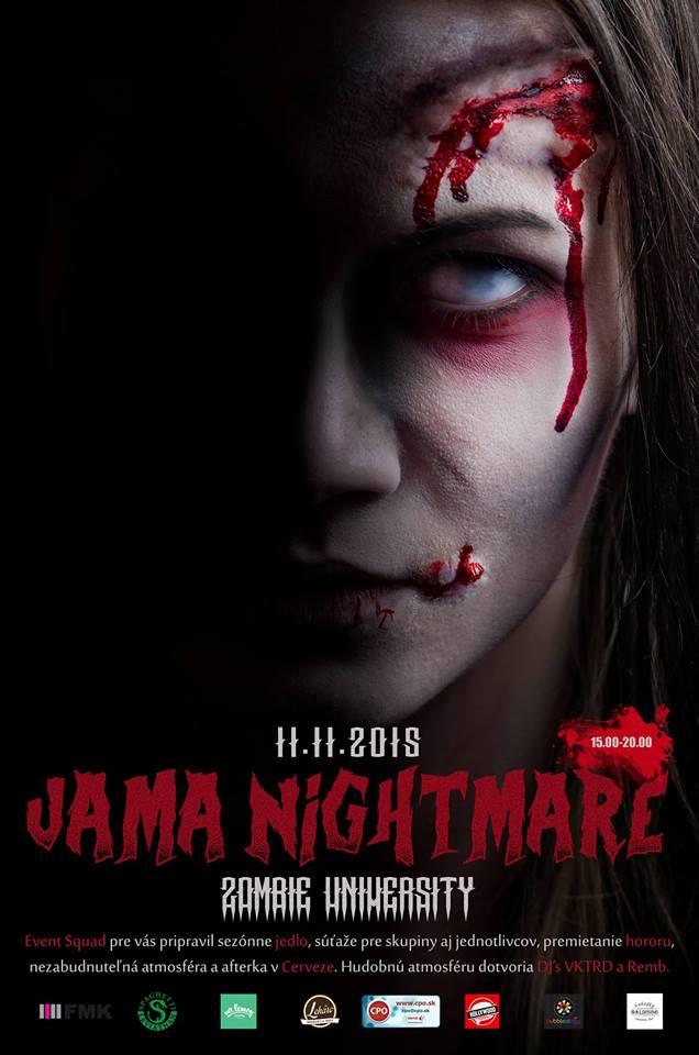 Jama nightmare - plagát