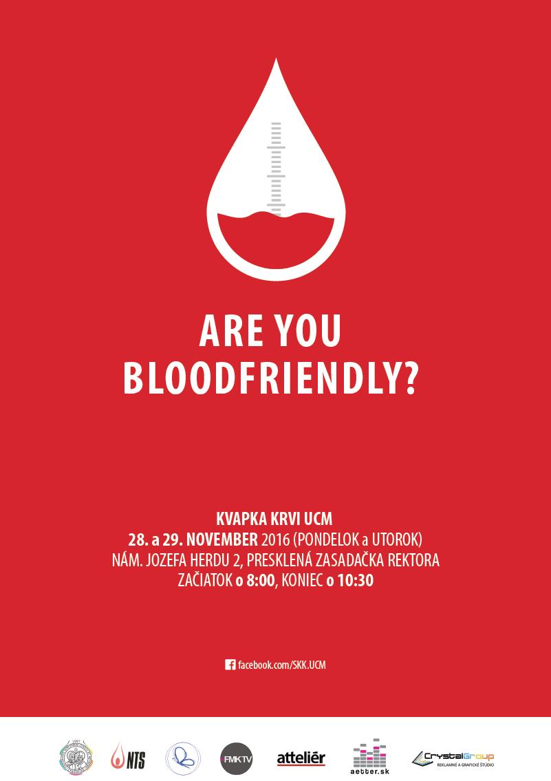 Kvapka krvi UCM 2016 - plagát