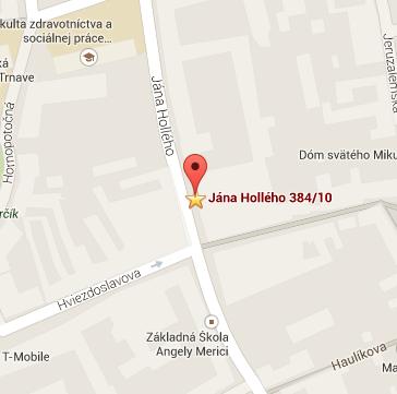 Nájsť miesto konferencie na mape - Google Maps